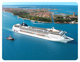 MSC Cruise from Barcelona