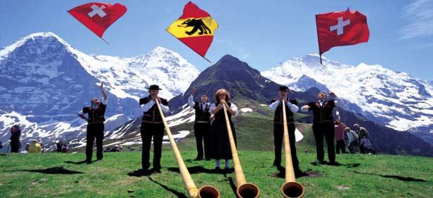 Traveling Around Switzerland on emaze