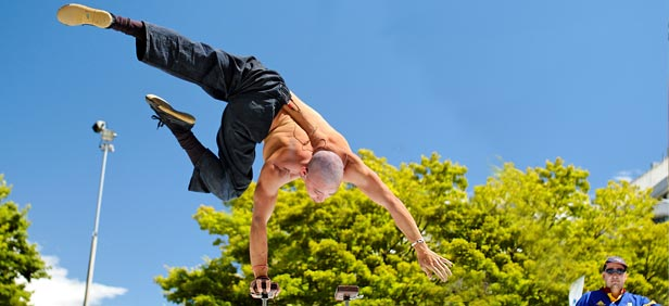 World Buskers Festival in New Zealand