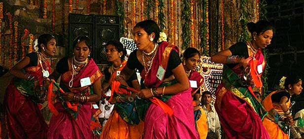 Cultural activities during the Phoolwalon Ki Sair Festival