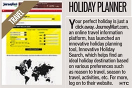 JourneyMart.com Holiday Planner Article on HTC